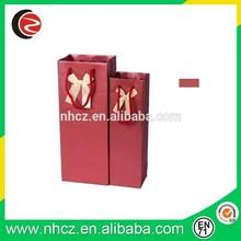 Luxury Red Wine Paper Bag