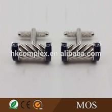 High quality hammer shape engraved enamal design brass cuff links men accessories