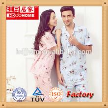 OEM Factory Price 2015 Fashion Girls Cotton Pajamas Set Sexy Summer Nighty