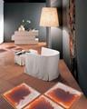 líquido de color del piso decorativo auto adhesivo vinilo del pvc azulejo de la alfombra