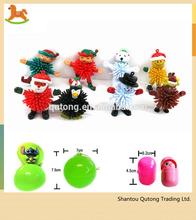 PVC snowman mini collection toy /bulk plastic toy