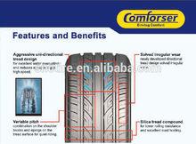 car tyres hot sale passenger car & suv tires technologically designed good quality lanvigator tire