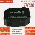 New hot uc30 advancest nível de uc28+ 1080p mobile alimentação mini-barata projetor para venda