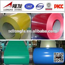 PPGI Color coated steel coils/GI steel sheet steel building material