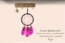 Birthday gifts charms valentine chicken feather dreamcatcher