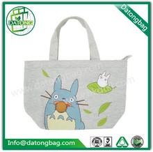 Cheap printed shopping bags/cotton shoe bag/cotton bag with cartoon