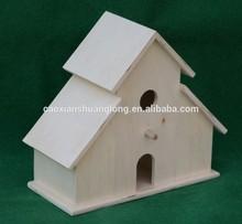 Wholesale wooden bird house,decoration home