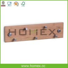 Bamboo Key Box/Wall Mount Wooden Key Storage Box/Homex_FSC/BSCI
