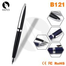 Jiangxin Advertising Logo Customized metal etching pen with led light