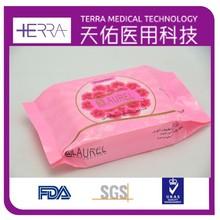Personal hygiene Wipes antibacterial skin cleaning wet wipes antibacterial feminine wipes in bag