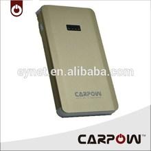 Portable car jump starter CARPOW brand high quality smart mobile power bank
