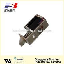 Hot sale magnetic electric bolt solenoid,solenoid lock 12V