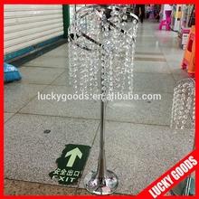 wholesale fashionable 75cm wedding crystal candelabra