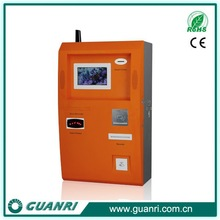 """Multi function payment kiosk with 7"""" touch screen monitors elegant design"""