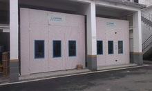 European standard spray booth