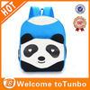 High quality kindergarten kids school bag canvas panda fashion backpack