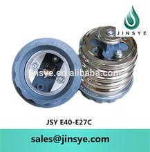 E40 e27 adapter lamp holder/lamp socket adapter/lamp base adapter