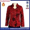 chino personalizado mujeres chaqueta de seda