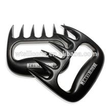 La herramienta de barbacoa de tener la forma de la garra de carne tenedores, pata de oso de carne de manipulador, tirado carnedecerdo trituradoras