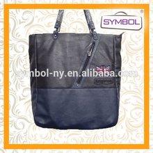 Top grade discount hot sell pu brand shopping bag