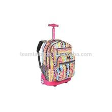 School backpack kids trolley school bag