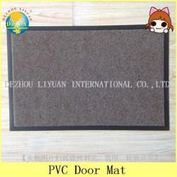Branded export home design entrance anti slip pvc door mat - DZLY/door mat
