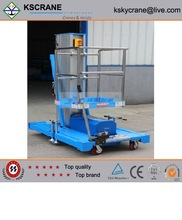 GTWDY series simple vertical mast lifts with CE certificate
