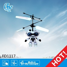 Newest product FD1117 helicopter style sense robot model toy