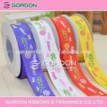 4'' popular character printed grosgrain ribbon;balloon ribbon decorations