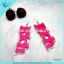 Shenzhen Factory Price Fashion Decoration Laser Cut Acrylic