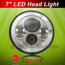 DC 24v condensed beam new with angel eye wranglere headlight