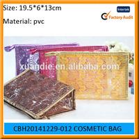 New design and hot saling pvc cosmetic bag, cheap travel bag, plastic toilet bag