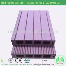 Top selling wood Plastic composite decking waterproof WPC outdoor flooring