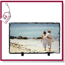 2015 Hot Sale!!! Anti-Corrode Customized Photo White Sublimation Rock for Wedding Gifts