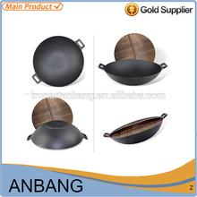 2015 hot sale popular double fry pan / cast iron cookware-8005