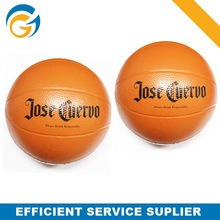 Mini Size Squeeze Basketball with PU Material