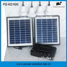 Hot sell led mini solar light kits new product