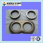 Putzmeister concrete pump spectacle wear plate spare part