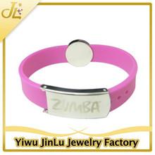 Fashion silicon wristband anti-static bracelet