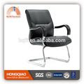 Cv-f55bs madeira 5 início perna cadeira de reunião mid voltar couro confortável reunião cadeira