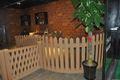 Tipo de madeira armação de plástico removível estados unidos fornecedores, decoração do jardim