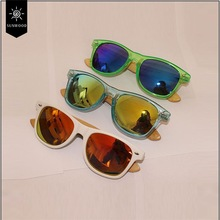 First rate factory price plastic bamboo wood variety sunglasses