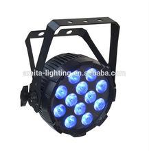 SPECIAL OFFER THIN RGBW STAGE LED PAR LIGHT 12X8W PP QUAD12 01