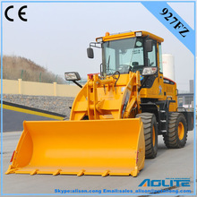 AOLITE 927FZ mini tractors with front end loader have ce and ROPS/FOPS certification