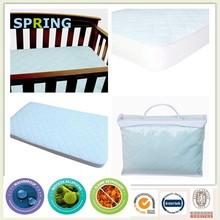 Premium bamboo waterproof mattress protector cot bed size
