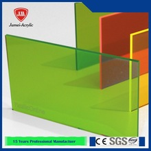 Colourful cast acrylic sheet/plastic sheets for light cover