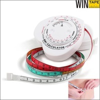 Most Popular customized your logo measuring tape BMI health care novelties for promotion