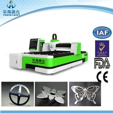 Huahai laser 500W 700W YAG laser cutting machine metal price for sale accept payment online by Trade Assurance