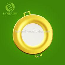 Modern design 3 inch LED Downlight w/Golden, Silver, White ring