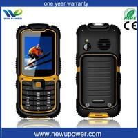 Warterproof Shockproof W26 big keyboard big voice mobile easy use speed dialing sos mobile phone for senior